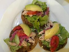 Yummy Chicken Tostadas